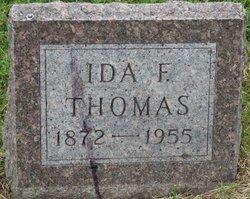 Ida F. <i>Cox</i> Thomas