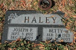 Betty J Haley