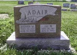 Esther M. <i>Clark</i> Adair