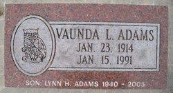 Lynn Harold Adams