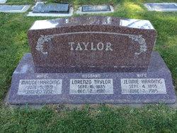 Mary Maude <i>Harding</i> Taylor