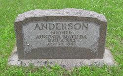 Augusta Mathilda Anderson