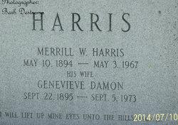 Genevieve Beatrice <i>Damon</i> Harris