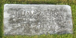 William Zebulon Crowe
