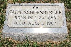 Sadie Schoenberger