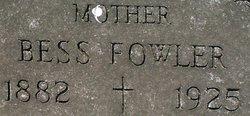 Mrs Bess Fowler