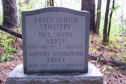 Abney Family Cemetery