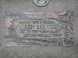 Judy L Cox