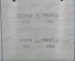 Sarah Louise <i>Taggart</i> Farrell