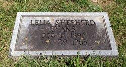 Lelia <i>Shepherd</i> Evans