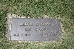 Berton Marshall Brown