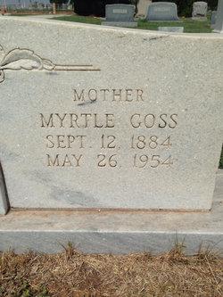 Myrtle Amelia <i>Goss</i> Baker