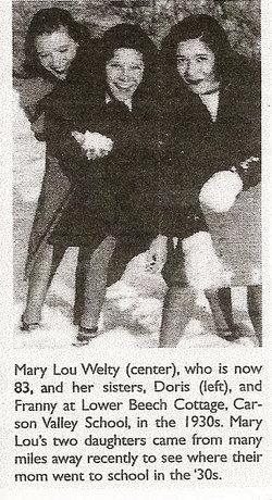 Doris <i>Welty</i> Allen