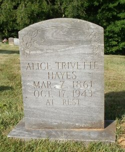 Celia Alice <i>Trivette</i> Hayes