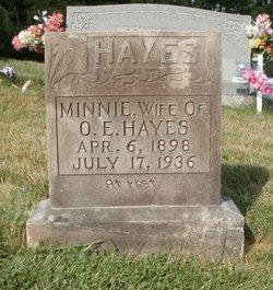 Minnie <i>Oliver</i> Hayes