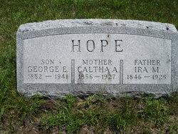 Caltha A. <i>Williams</i> Hope