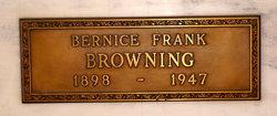 Bernice <i>Frank</i> Browning