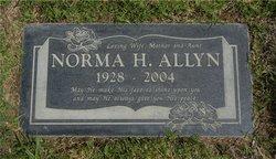 Norma Helen <i>French</i> Allyn
