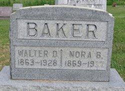 Walter D Baker