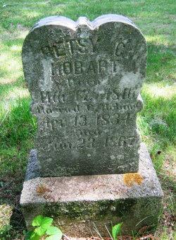 Betsy C <i>Ticknor</i> Hobart