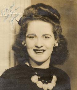 Gloria E. Bunny <i>Worrel</i> Webster