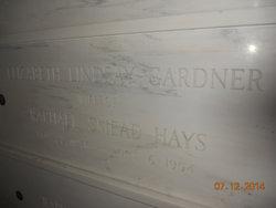 Elizabeth Lindsay <i>Gardner</i> Hays