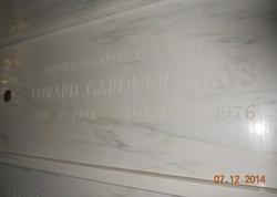 Edward Gardner Hays