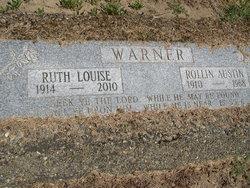 Ruth Louise Warner