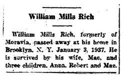 William Mills Will Rich
