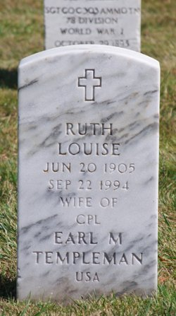 Ruth Louise <i>Shinney</i> Templeman