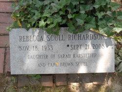 Rebecca <i>Scull</i> Richardson
