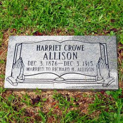 Harriet <i>Crow</i> Allison