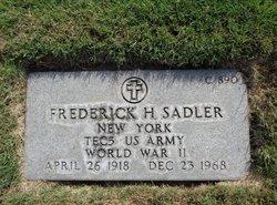 Frederick Henry Sadler