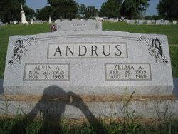 Zelma Amelia <i>Gentry</i> Andrus