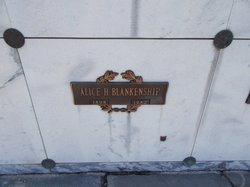 Alice H Blankenship