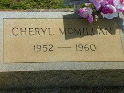 Cheryl McMillan