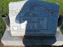 Berniece I. <i>Miller</i> Branson