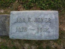 Ada E. Jones