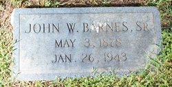 John William Barnes, Sr
