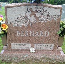 Frances D. Fran <i>Santspree</i> Bernard