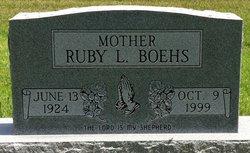 Ruby L <i>Penner</i> Boehs