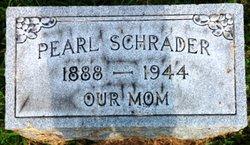 Mary Pearl <i>Shain</i> Schrader