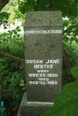 Susan Jane Hester