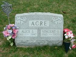 Alice <i>Shields</i> Acre