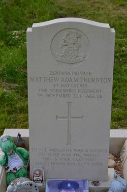 Pvt Matthew Adam Thornton