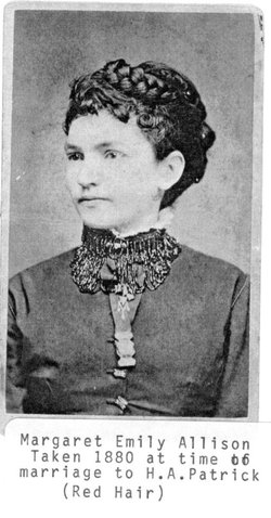 Margaret Emily Em <i>Allison</i> Patrick
