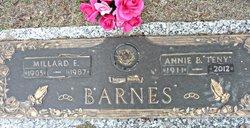Annie Octavia Teny <i>Bunting</i> Barnes