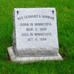 Rev Leonard A. Hirman
