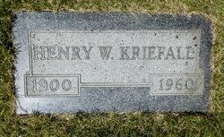 Heinrich Wilhelm Henry Kriefall
