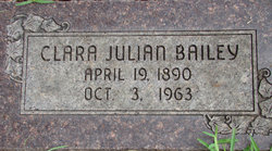 Clara <i>Julian</i> Bailey